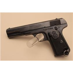 Husqvarna semi-automatic pistol, .380 caliber, 5 barrel, mat black finish,