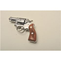Ruger Speed Six DA revolver, .38 Special caliber, 2.75 barrel,
