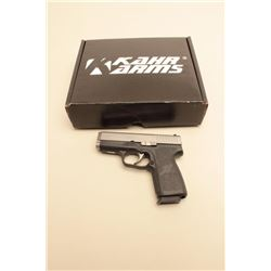 Kahr CW9 Double Action only semi-auto pistol in 9mm with
