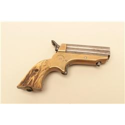 Sharps four barrel .30 caliber rim fire derringer, S/N 158417.
