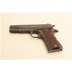 Colt Model 1911A-1 .45 ACP caliber military issue pistol, S/N