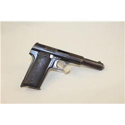 Astra Model 1921 9mm Luger caliber Semi-Auto pistol with early
