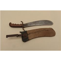 Hospital Corps. bolo knife dated 1914 with replaced and recovered