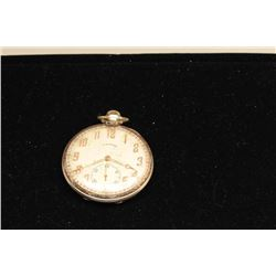Lot of 2 pocket watches as described: 1. Large Elgin gold
