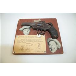 1938 commemorated Broadway show Hellzapoppin with this .38 caliber double