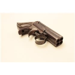 Remington Elliot four barrel derringer in .30 caliber rim fire,