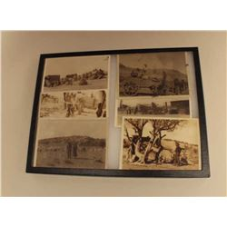Lot of 6 early photos of Navajo Reservation Indians and