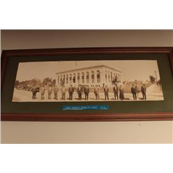 Early framed photo of members of the Kern County Sheriffs