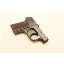 Mossberg Brownie .22 caliber pepperbox derringer, S/N 14927. 80%-90% original