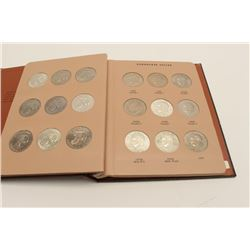 Book of Eisenhower (IKE) Dollars, Complete 1971-1978's, 32 coins. Uncirculated