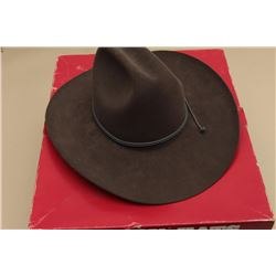 Stetson 4X Beaver Western hat in factory box; size 6-7/8;
