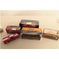 lot of 5 metal cars. Est:$50-100
