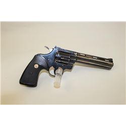 Colt Python 6 revolver #93364, .357 Mag, blue finish, later