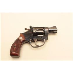 Smith  Wesson Model 34 DA revolver with adjustable rear