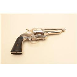 Merwin  Hulbert Frontier single action revolver, open top, .44