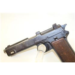 Steyr Model 1913 Semi-Auto pistol with import marks and arsenal