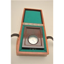 Waltham traveling clock with both cases. Early autos. Est.: $70-140