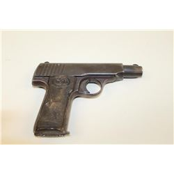 Walther Model 4 #75695, 7.65mm left hand eject, few made.