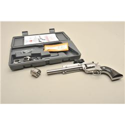 Ruger New Model Single Six Stainless #265-89020, .22 LR and