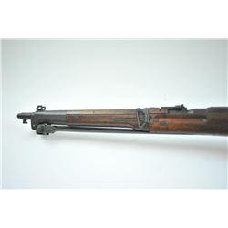 Japanese Arisaka 6.5 carbine with folding bayonet, dust cover retained,