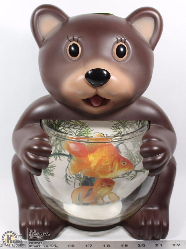 Aquanimal Teddy Bear Fish Tank With