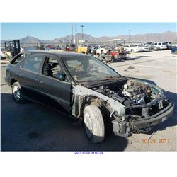 1997 - HONDA ACCORD EX//SALVAGE TITLE//EXPORT ONLY