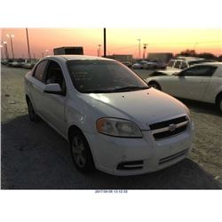2007 - CHEVROLET AVEO//SALVAGE TITLE//EXPORT ONLY