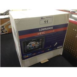 LOWRANCE HDS 12 GEN 3 FISH FINDER