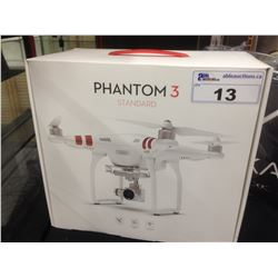 PHANTOM 3 STANDARD DRONE WITH GPS, WIFI, CAMERA AND MORE