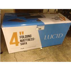 LUCID 4'' FOLDING MATTRESS SOFA
