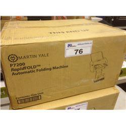 MARTIN YALE P7200 RAPIDFOLD AUTOMATIC FOLDING MACHINE