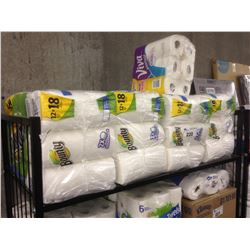 LARGE LOT OF BOUNTY PAPER TOWELS