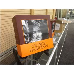 GEORGE HARRISON COLLECTOR VINYL SET WITH 13 SOLO ALBUMS AND 2 COLLECTOR'S PICTURE DISCS.