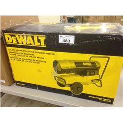 DEWALT 135,000 BTU/HR KEROSENE FORCED AIR HEATER