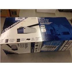 CHAMBERLAIN PD512 1/2 HORSEPOWER CHAIN DRIVE ELECTRIC GARAGE DOOR OPENER