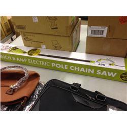 SUNJOE ELECTRIC POLE CHAIN SAW