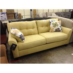 CANARY YELLOW 3 SEAT SOFA