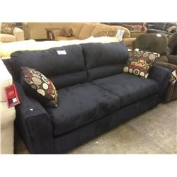NAVY BLUE 3 SEAT SOFA