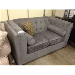 DARK GREY 2 SEAT SOFA
