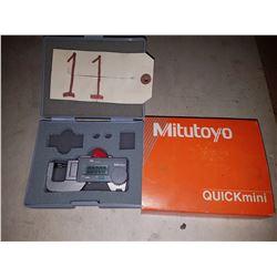 Mitutoyo Quick Mini Micrometer