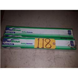 Box of ProStar Welding Electrodes 5/32'' x 18''