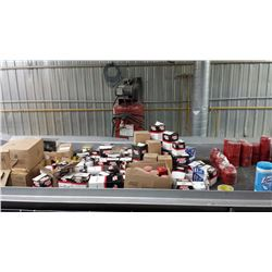 Lots of over 165 pcs of brand New oil, hydraulic, air, fuel filters. valued over 4000$ USD