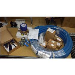 Brand new Spirax/Sarco steam/water mixing station