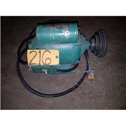 Electric Motor 1HP 110v