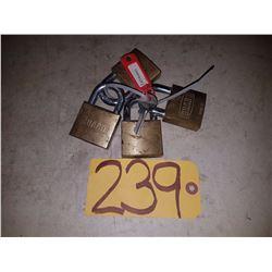 Locks with 1 key