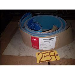 Carborundum Abrasive Belt 5'' x 158'' Gr60