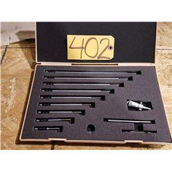 Mitutoyo Inside Micrometer 2''-12'' Set