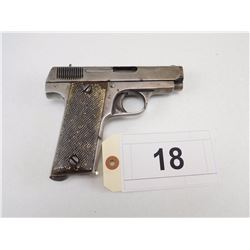 GARATE ARILEE , MODEL: 1915 PISTOLA AUTOMATIC , CALIBER: 7.65MM