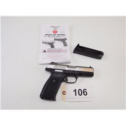 RUGER , MODEL: SR9 , CALIBER: 9MM LUGER