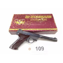 HIGH STANDARD , MODEL: S-101 SUPERMATIC     , CALIBER: 22 LR